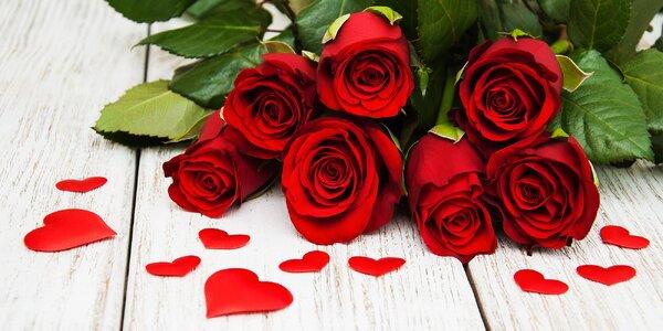 Voňavá kytice růží z lásky i s doručením