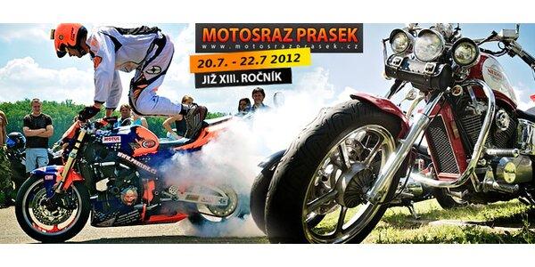 Vstupenka na motosraz Prasek 2012