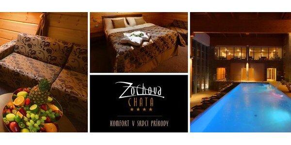 4799 Kč za třídenní wellness pobyt pro DVA v Hotelu Zochova chata****