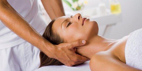 60minutová sportovní masáž zad a šíje