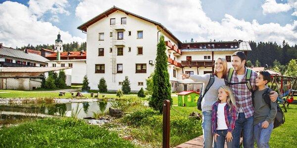 Rodinný pobyt na Šumavě se zábavou pro všechny