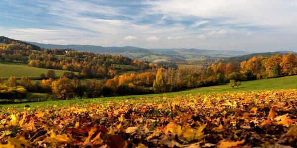 Pohodový podzim v útulném apartmánu na Šumavě