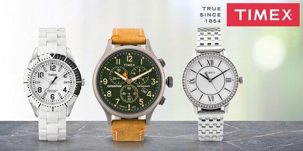 Dámské a pánské hodinky Timex