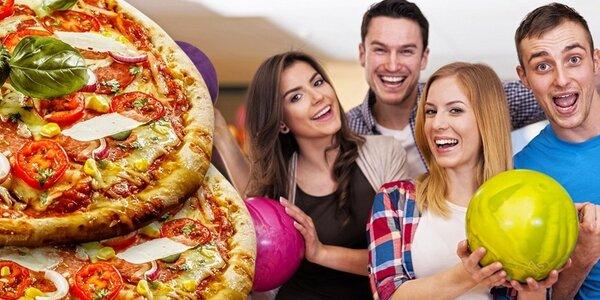 Bowling či laserová střelnice s možností pizzy až pro 8 osob