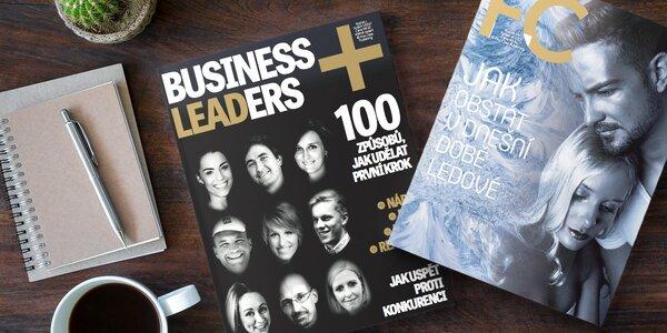 Předplatné magazínů FC a Business Leaders