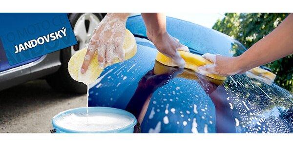 Profesionální ruční mytí auta