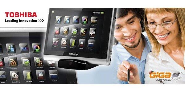 """2190 Kč za multimediální tablet Toshiba Journ.E se 7"""" dotykovým displejem!"""