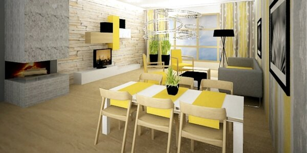 3D návrh interiéru - jasná vize o novém bydlení