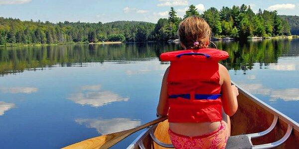Půjčení kánoí či raftů pro 2, 3 či 6 vodáků na víkend