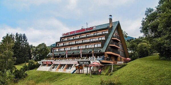 Odpočinek s polopenzí a wellness ve Špindlu