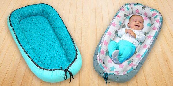 Pohodlná hnízda Babyrenka pro nejmenší miminka