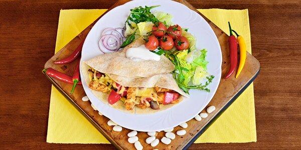 Vyladěné 3chodové mexické menu pro 2 gurmány