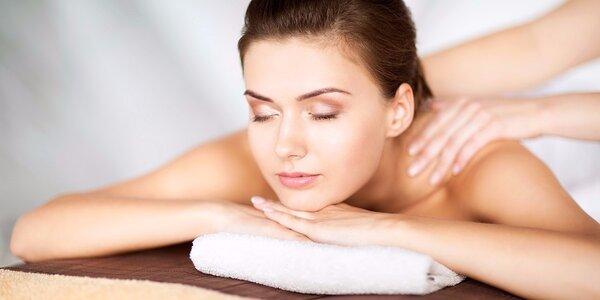 30minutová relaxační masáž zad a šíje U Pechajdy