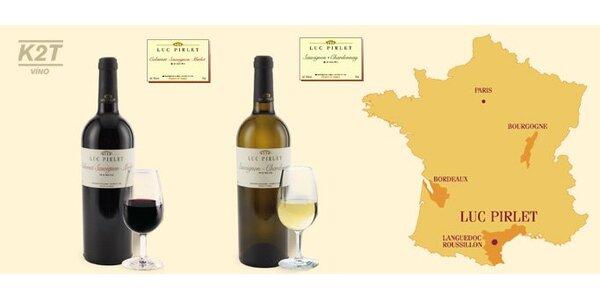 299 Kč za DVĚ špičková francouzská vína podávaná v restauracích Michelin