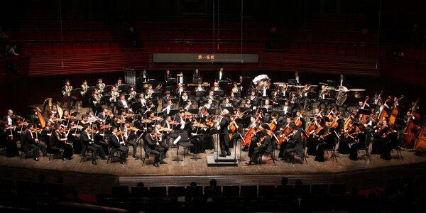 Čínský symfonický orchestr ve Smetanově síni