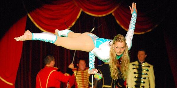 Vstupenky na velkolepou show cirkusu Bernes