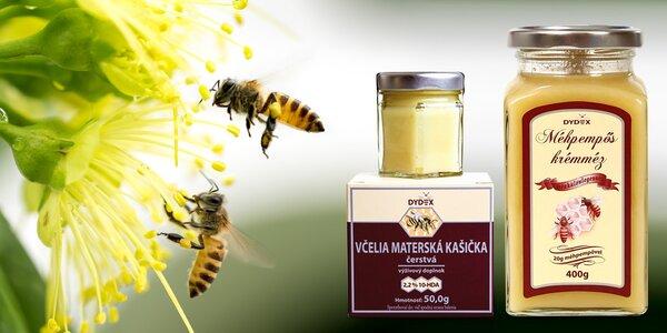 Včelí mateří kašička a med: přírodní posila organismu