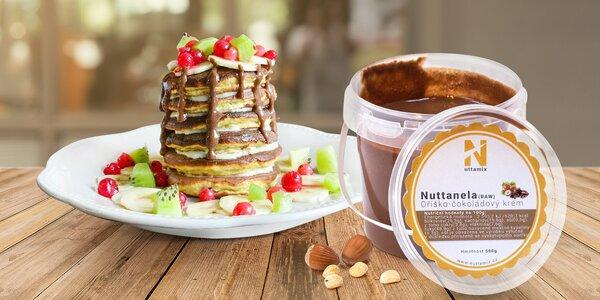 Oříško-čokoládová pochoutka: Nuttanela RAW
