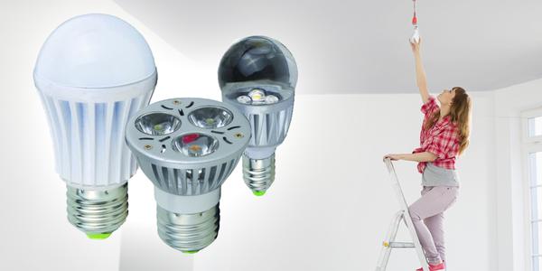 LED žárovky do stropních světel i do lampiček