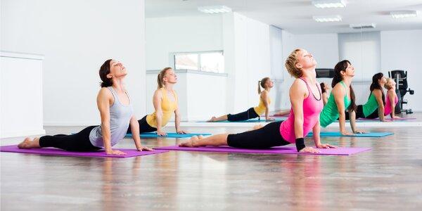 Buďte fit: vstupy na lekce jógy dle výběru