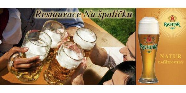 46 Kč za ČTYŘI točené Rychtáře Natur 12°. Exkluzivní pivní ochutnávka!