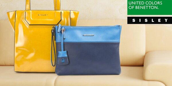 Dámské kabelky Sisley a Benetton