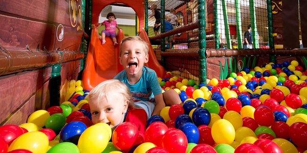 Celý den v dětském zábavním parku Robinson