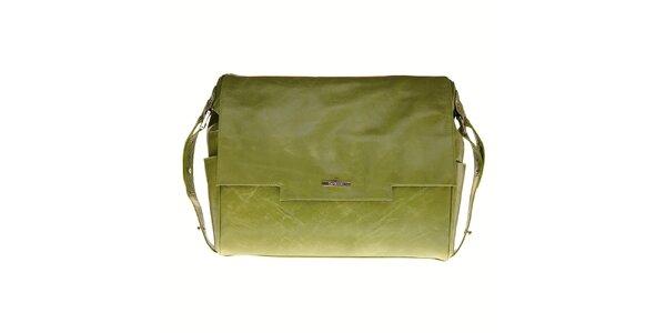Dámská světle zelená kabelka Tavecchi