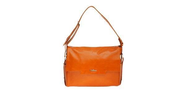 Dámská oranžová kabelka Tavecchi