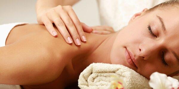 Podzimní relaxace s masáží dle výběru