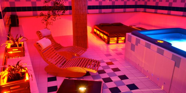 2 hodiny jen pro vás 2: privátní vířivka i sauna