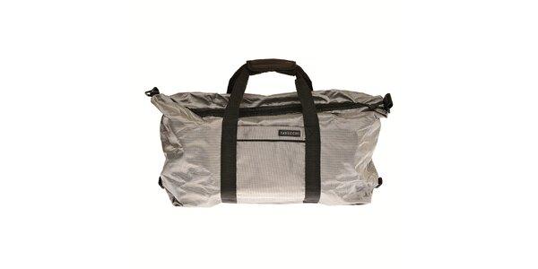 Stříbrná cestovní taška Tavecchi
