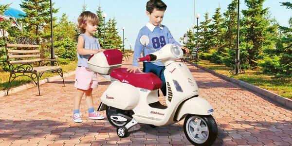 Legendární retro skútr Vespa pro malé motorkáře