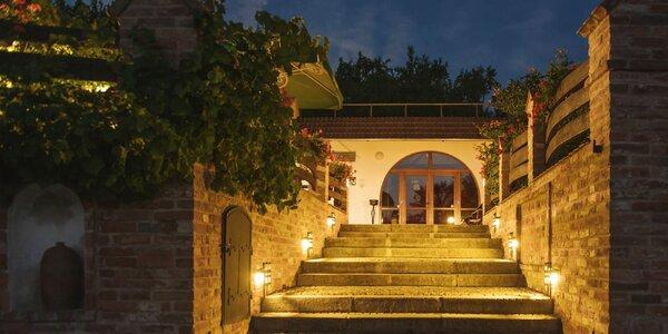 3 kouzelné dny na jižní Moravě s polopenzí i vínem