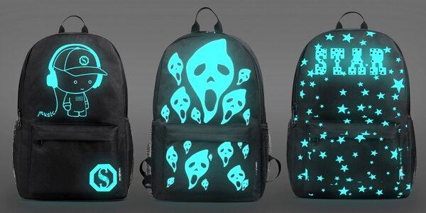 Zaručeně oslníte: batoh se svítícím obrázkem