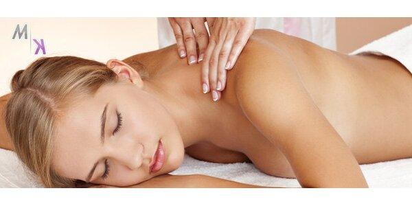 199 Kč za celkovou masáž těla. 60 minut dokonalé relaxace a uvolnění!