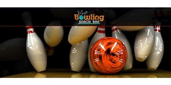 139 Kč za hodinový pronájem bowlingové dráhy až pro osm osob.