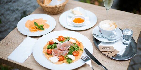 Speciální italská snídaně i se sklenkou prosecca