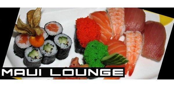 Bohaté sushi menu. Ochutnejte Japonsko