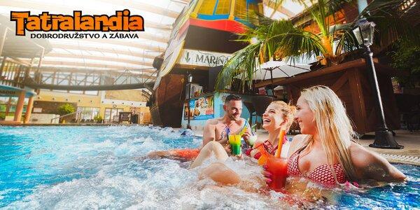 Silvestrovská párty v aquaparku Tatralandia