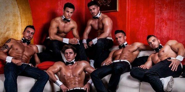 Striptýzová Dream Men Show pro velké holky