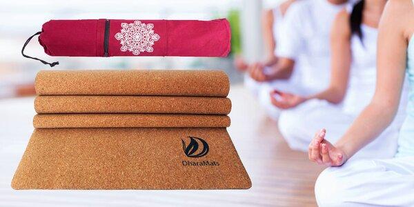 Ekologické pomůcky na jógu od značky Dhaara