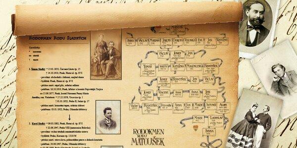 Předchozí nabídky podniku Rodokmeny a historické studie  9c4e6425de