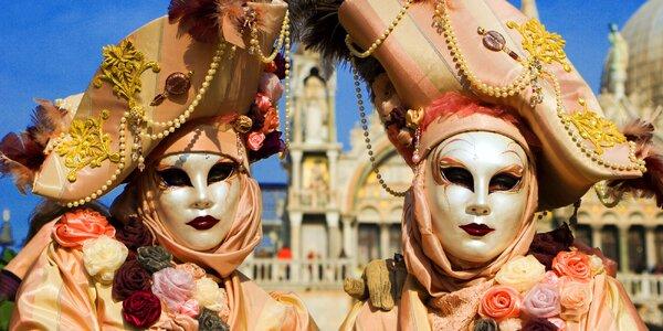 Výlet na světově proslulý Benátský karneval