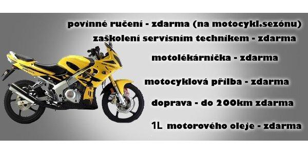 1000 Kč za kupon v hodnotě 10000 Kč použitelný na nákup motocyklu DS!