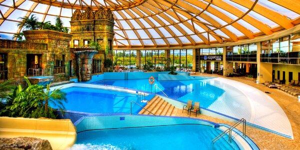 Budapešť s božím aquaparkem, wellness a jídlem