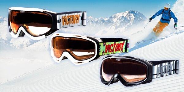 Kvalitní lyžování s brýlemi Victory - na sjezd nebo běžkování