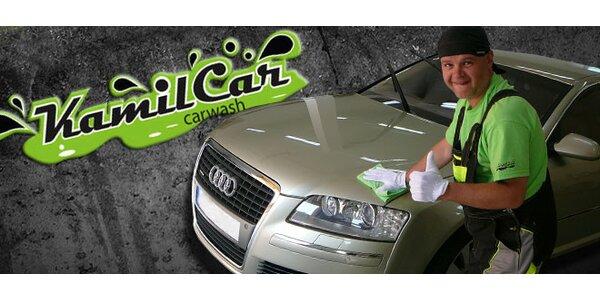 Poctivé ruční vymydlení a navoskování vašeho auta