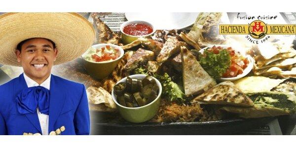 499 Kč za mexické speciality pro 2-4 osoby v restauraci Hacienda Mexicana!