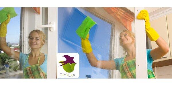 90 Kč za hodinu mytí až 4 oken v Brně